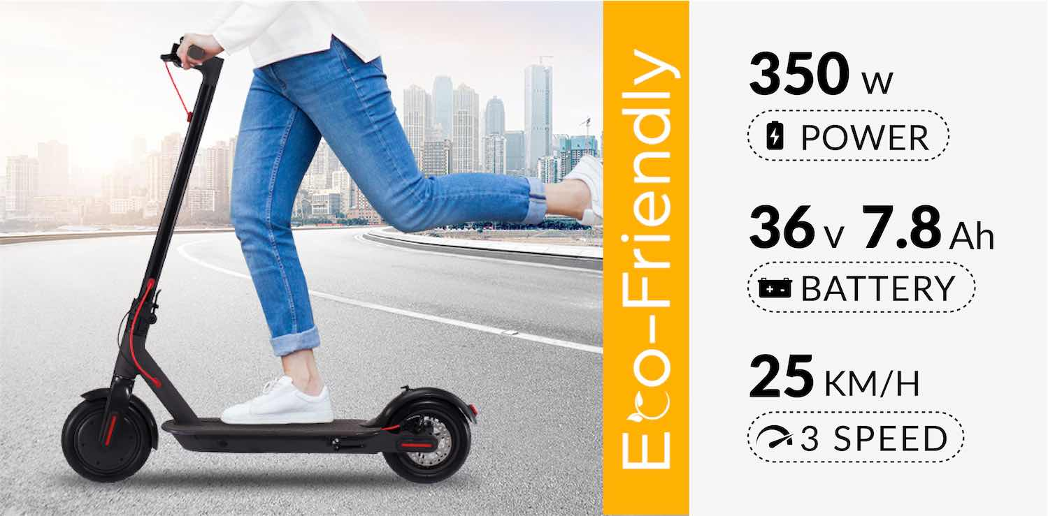 Eco Friendly Electric Scooter
