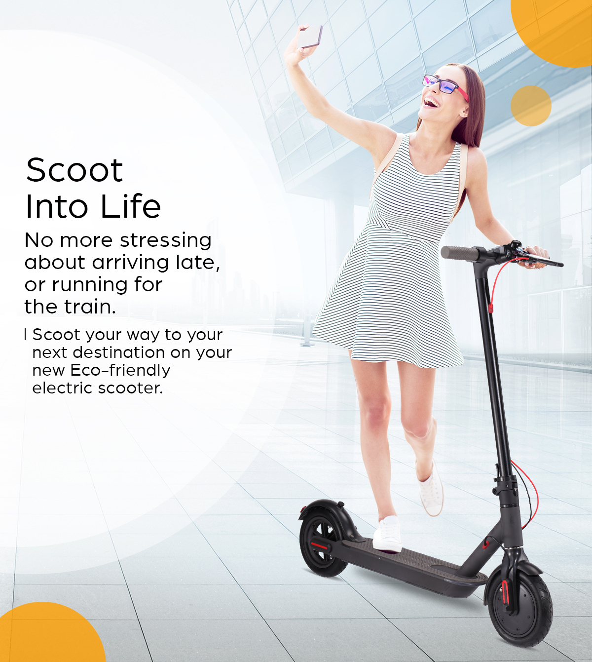 Scoot Into Life